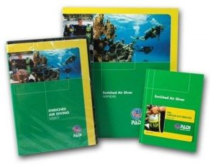 PADI Speciality Courses: Enriched Air Nitrox course