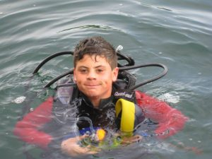 Children and Diving