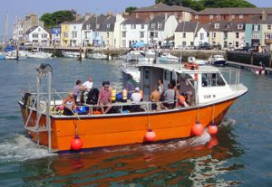 UK dive boat out of Weymouth