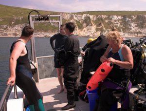 UK Diving: kitting up