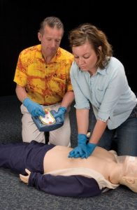 First Aid: CPR training